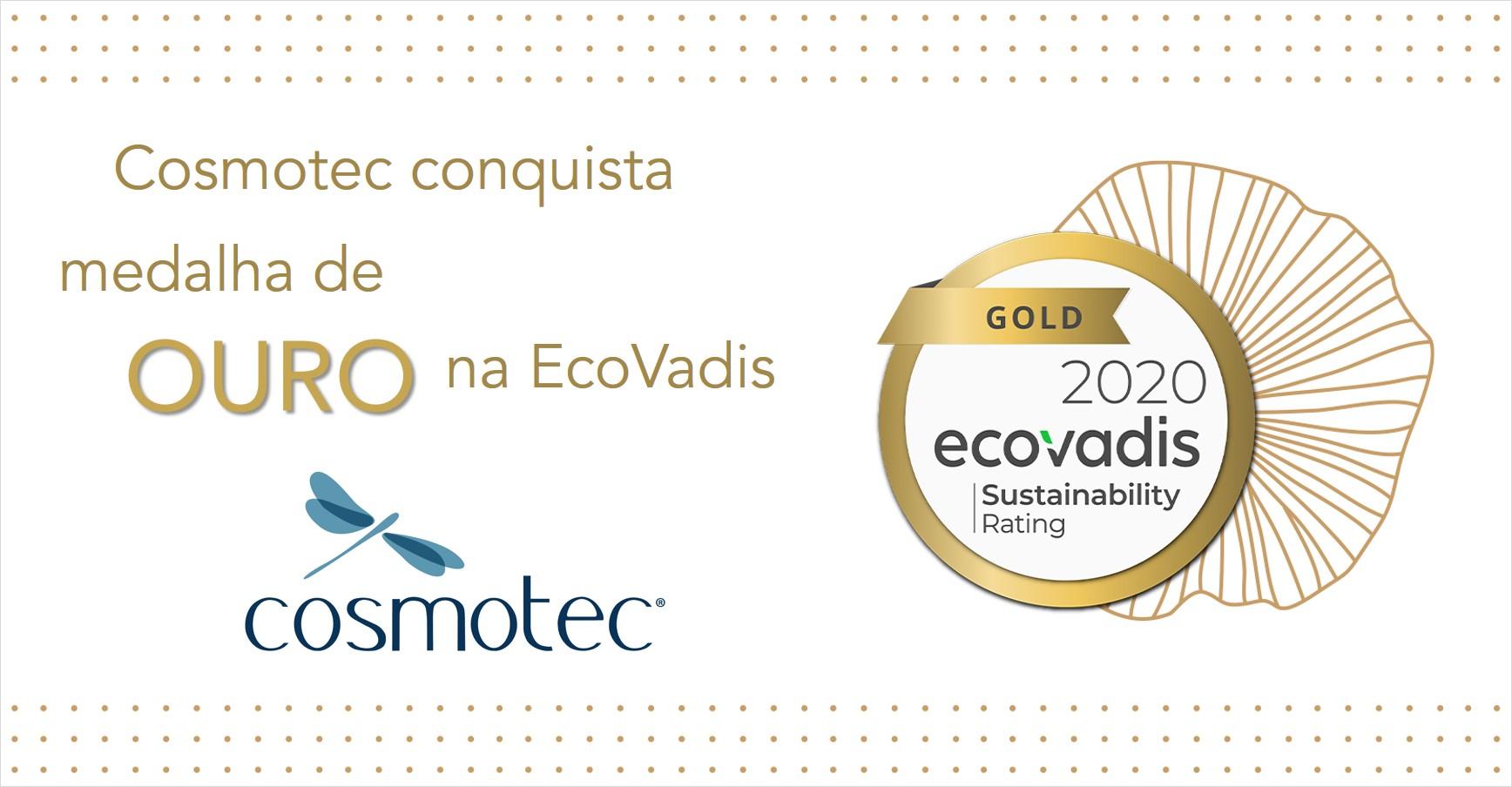Cosmotec é Ouro na EcoVadis 2020