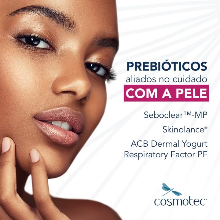 Prebióticos aliados no cuidado com a pele