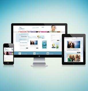 Design Responsivo: Acesse o site em qualquer dispositivo