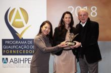 Cosmotec is recognized in ABIHPEC's Supplier Evaluation Program
